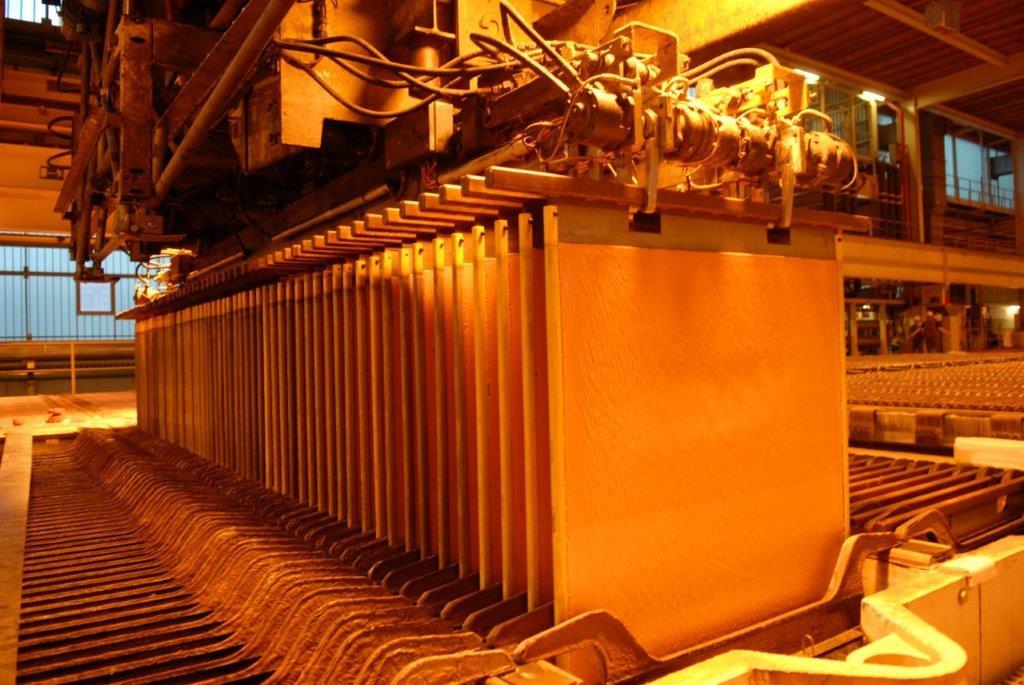 La production mondiale de cuivre en hausse en 2018